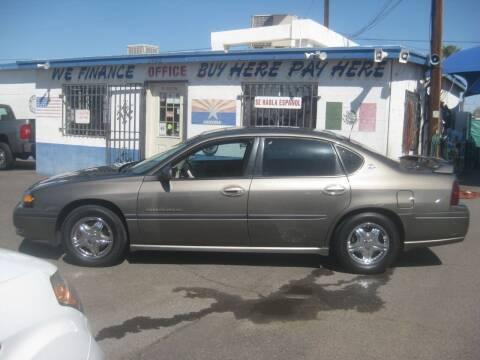 2002 Chevrolet Impala for sale at Town and Country Motors - 1702 East Van Buren Street in Phoenix AZ