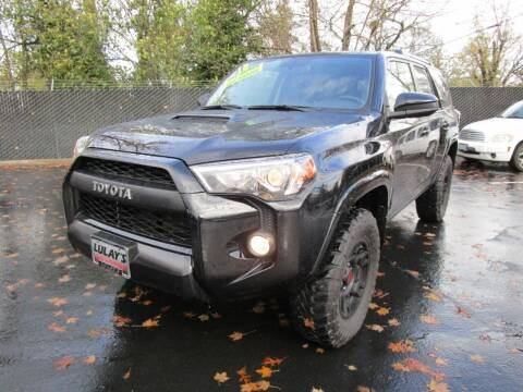 2018 Toyota 4Runner for sale at LULAY'S CAR CONNECTION in Salem OR