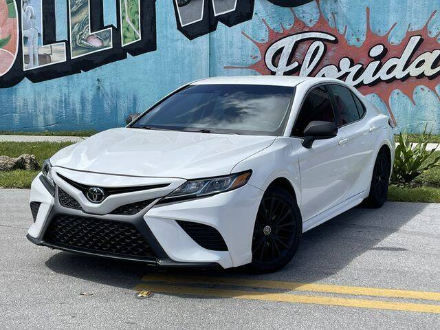 2018 Toyota Camry for sale at Palermo Motors in Hollywood FL