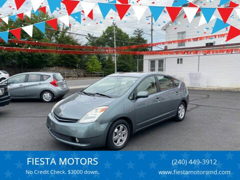 2004 Toyota Prius for sale at FIESTA MOTORS in Hagerstown MD