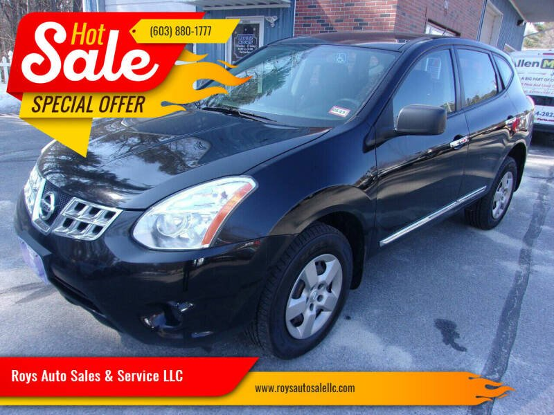 2013 Nissan Rogue for sale at Roys Auto Sales & Service in Hudson NH