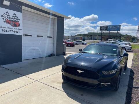 2015 Ford Mustang for sale at NATIONAL CAR AND TRUCK SALES LLC - National Car and Truck Sales in Concord NC