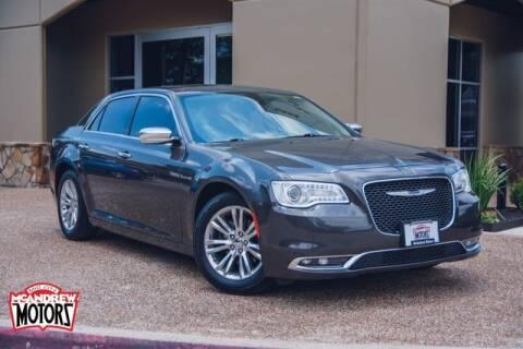 2016 Chrysler 300 for sale at Mcandrew Motors in Arlington TX