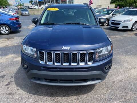 2017 Jeep Compass for sale at Rayyan Auto Mall in Lexington KY