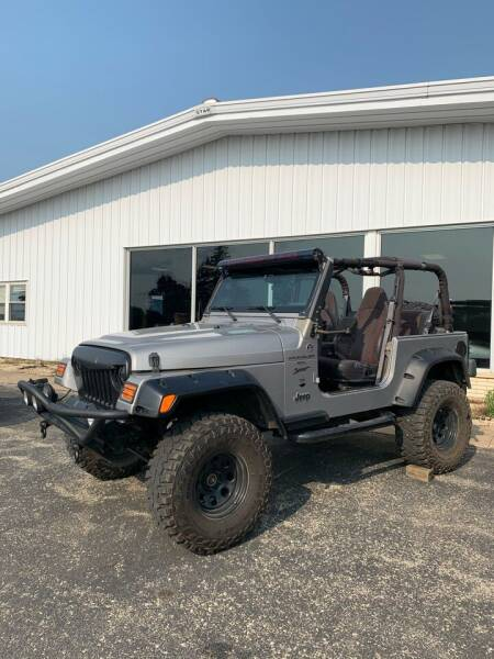 2000 Jeep Wrangler for sale at QUALITY MOTORS in Cuba City WI
