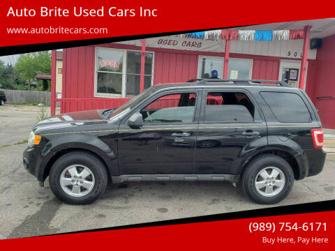 2009 Ford Escape for sale at Auto Brite Used Cars Inc in Saginaw MI