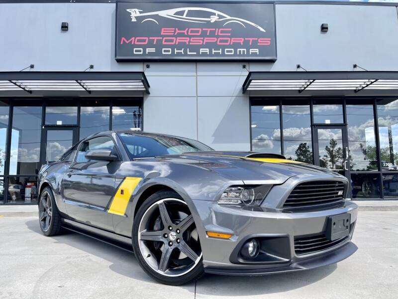 2014 Ford Mustang for sale at Exotic Motorsports of Oklahoma in Edmond OK