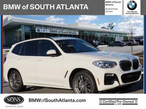 2019 BMW X3 for sale at Carol Benner @ BMW of South Atlanta in Union City GA