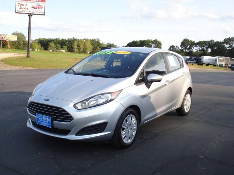 2016 Ford Fiesta for sale at Fox River Auto Sales in Princeton WI