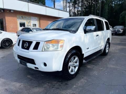 2009 Nissan Armada for sale at Magic Motors Inc. in Snellville GA