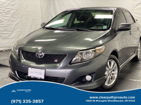 2010 Toyota Corolla for sale at CLEARPATHPRO AUTO in Milwaukie OR