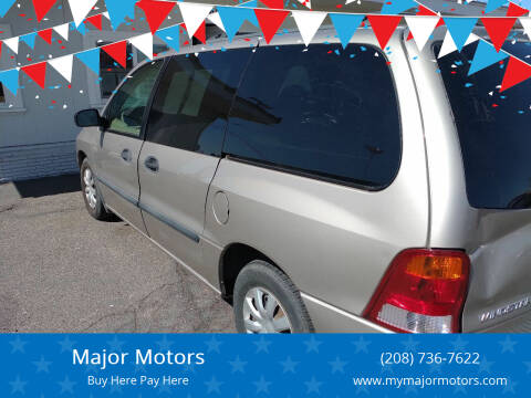 2003 Ford Windstar for sale at Major Motors in Twin Falls ID