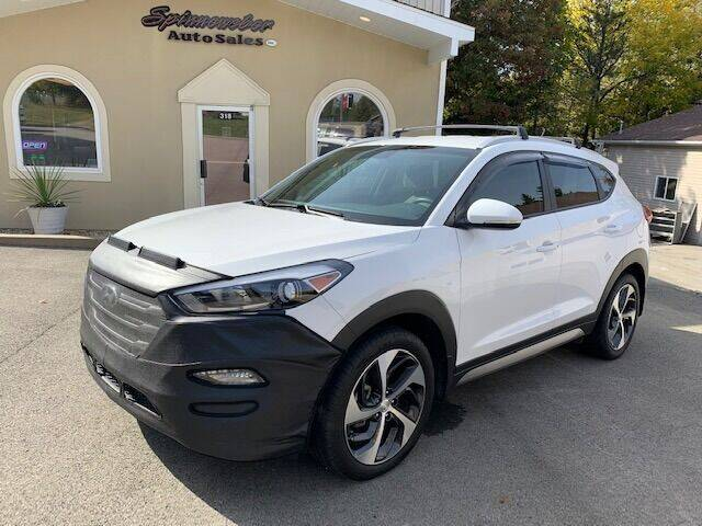 2017 Hyundai Tucson for sale at SPINNEWEBER AUTO SALES INC in Butler PA