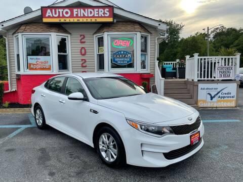 2018 Kia Optima for sale at Auto Finders Unlimited LLC in Vineland NJ