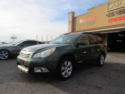 2011 Subaru Outback for sale at Import Motors in Bethany OK