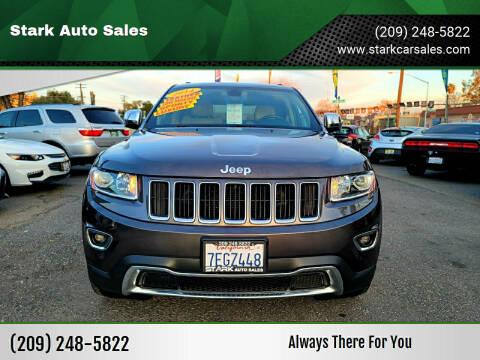 2014 Jeep Grand Cherokee for sale at Stark Auto Sales in Modesto CA