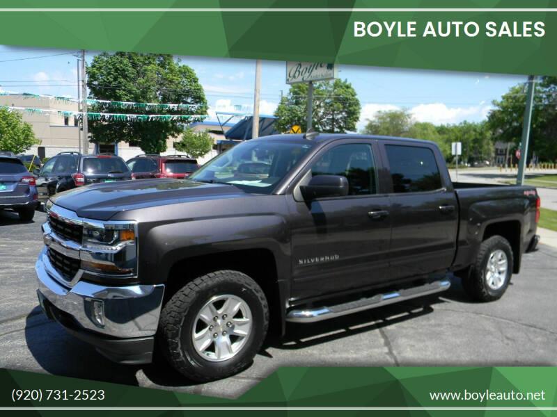 2016 Chevrolet Silverado 1500 for sale at Boyle Auto Sales in Appleton WI