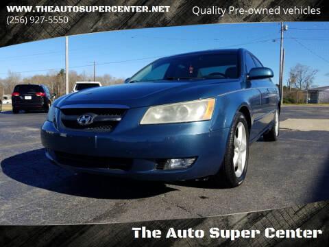 2006 Hyundai Sonata for sale at The Auto Super Center in Centre AL
