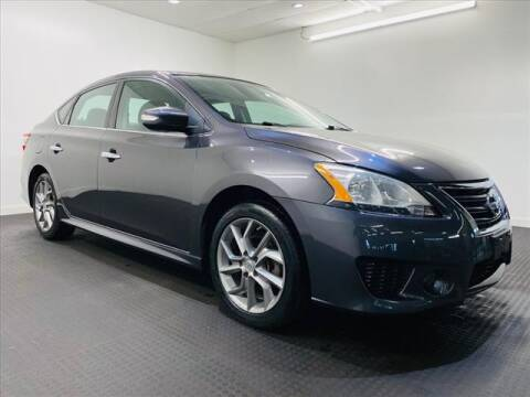 2015 Nissan Sentra for sale at Champagne Motor Car Company in Willimantic CT