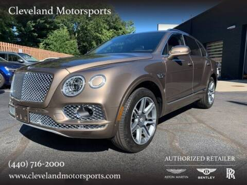 2018 Bentley Bentayga for sale at Drive Options in North Olmsted OH