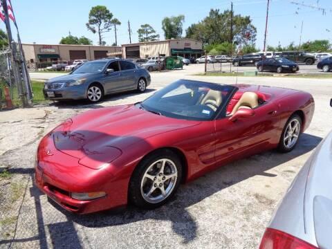2004 Chevrolet Corvette for sale at SCOTT HARRISON MOTOR CO in Houston TX
