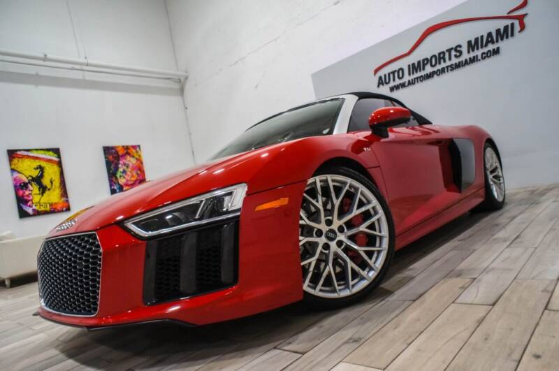 2017 Audi R8 for sale at AUTO IMPORTS MIAMI in Fort Lauderdale FL