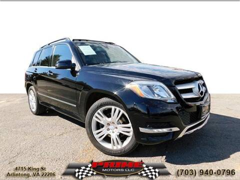 2013 Mercedes-Benz GLK for sale at PRIME MOTORS LLC in Arlington VA