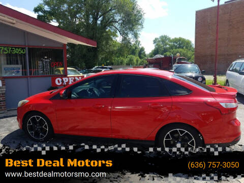 2014 Ford Focus for sale at Best Deal Motors in Saint Charles MO