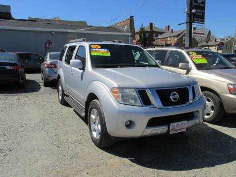 2008 Nissan Pathfinder for sale at Omega Auto & Truck Center, Inc. in Salem MA
