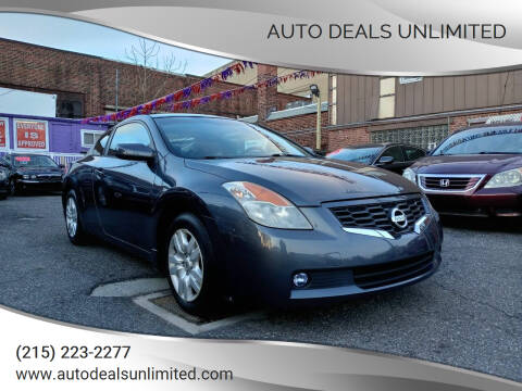 2009 Nissan Altima for sale at AUTO DEALS UNLIMITED in Philadelphia PA