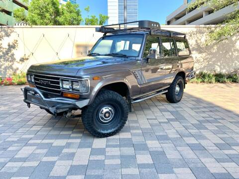 1990 Toyota Land Cruiser for sale at ROGERS MOTORCARS in Houston TX