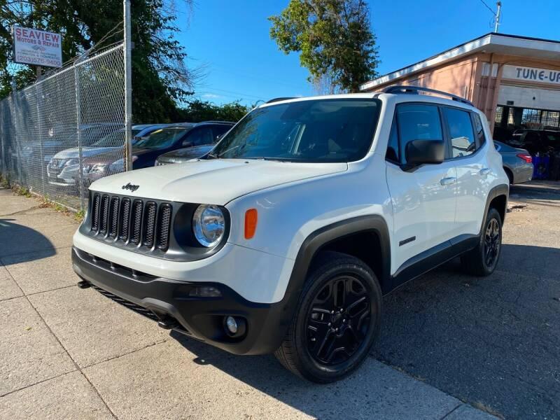 2018 Jeep Renegade for sale at Seaview Motors and Repair LLC in Bridgeport CT