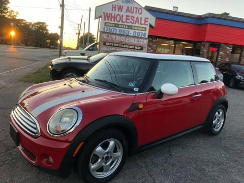 2007 MINI Cooper for sale at HW Auto Wholesale in Norfolk VA