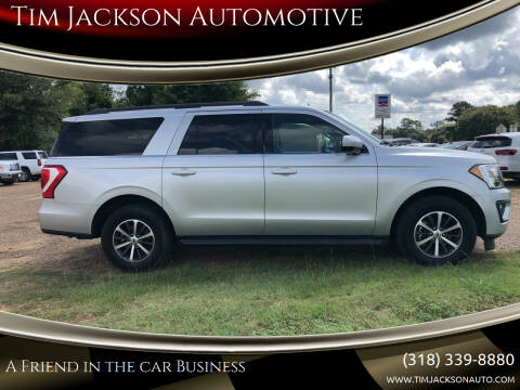 2019 Ford Expedition MAX for sale at Tim Jackson Automotive in Jonesville LA