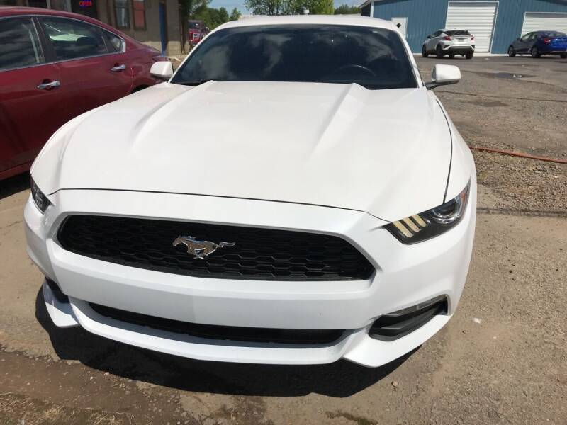 2017 Ford Mustang for sale at BEST AUTO SALES in Russellville AR