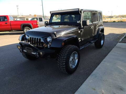 2014 Jeep Wrangler Unlimited for sale at CRUZ'N MOTORS in Spirit Lake IA