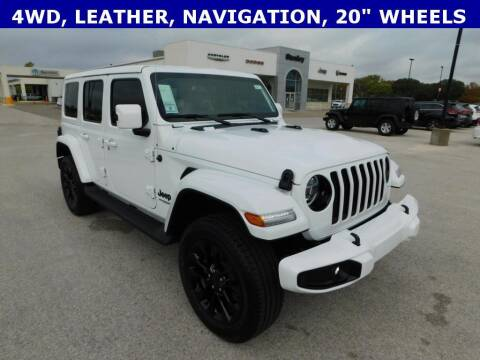 2021 Jeep Wrangler Unlimited for sale at Stanley Chrysler Dodge Jeep Ram Gatesville in Gatesville TX