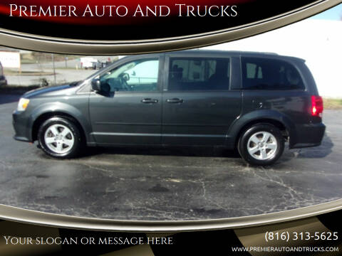 2011 Dodge Grand Caravan for sale at Premier Auto And Trucks in Independence MO