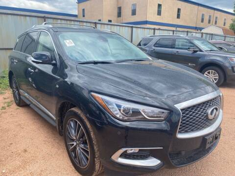 2018 Infiniti QX60 for sale at Street Smart Auto Brokers in Colorado Springs CO
