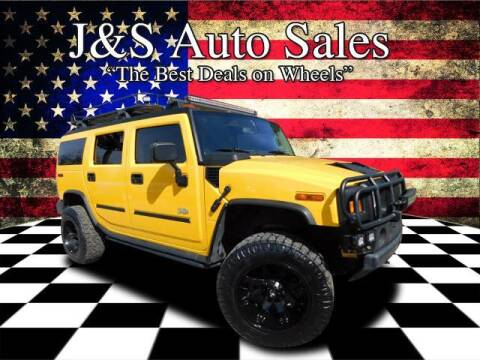 2003 HUMMER H2 for sale at J & S Auto Sales in Clarksville TN