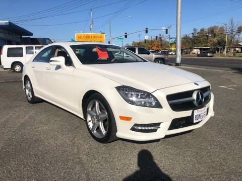 2013 Mercedes-Benz CLS for sale at All Cars & Trucks in North Highlands CA