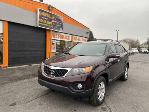 2011 Kia Sorento for sale at Lehigh Valley Truck n Auto LLC. in Schnecksville PA