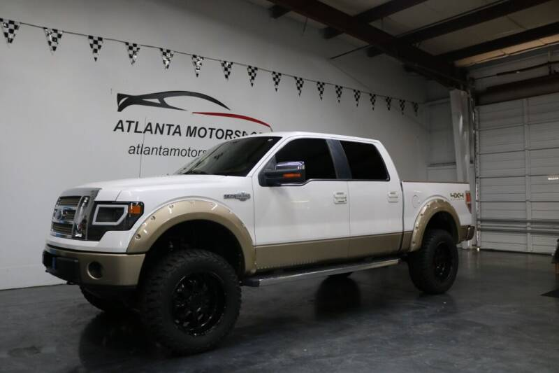 2011 Ford F-150 for sale at Atlanta Motorsports in Roswell GA