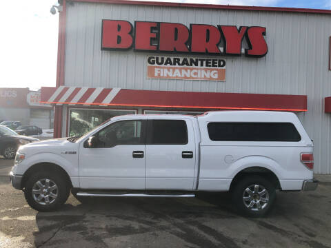 2014 Ford F-150 for sale at Berry's Cherries Auto in Billings MT
