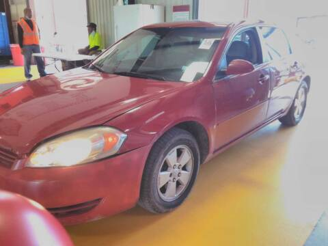 2008 Chevrolet Impala for sale at TEXAS MOTOR CARS in Houston TX