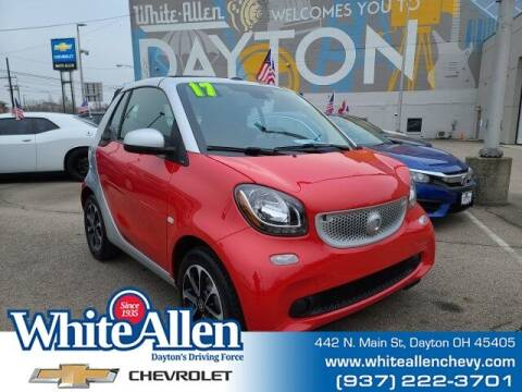 2017 Smart fortwo for sale at WHITE-ALLEN CHEVROLET in Dayton OH