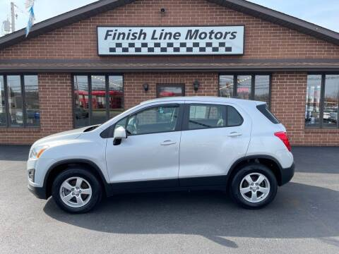 2016 Chevrolet Trax for sale at FINISHLINE MOTORS in Canton OH