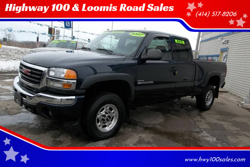 2007 GMC Sierra 2500HD Classic for sale at Highway 100 & Loomis Road Sales in Franklin WI