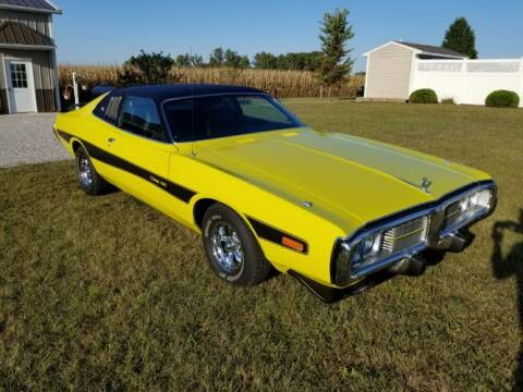 1973 Dodge Charger for sale at Classic Car Deals in Cadillac MI