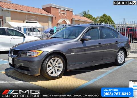 2007 BMW 3 Series for sale at Cali Motor Group in Gilroy CA